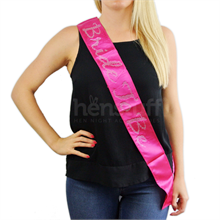 Bride To Be Sash With Dare Card And Pocket