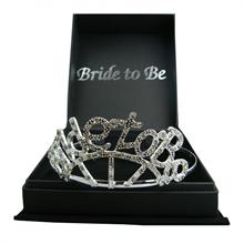 Boxed Diamante Bride to Be Tiara