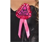 Pink Hen Party Rosette