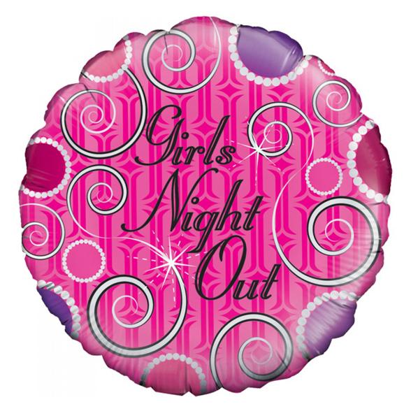 Pink Girls Night Out Balloon 1