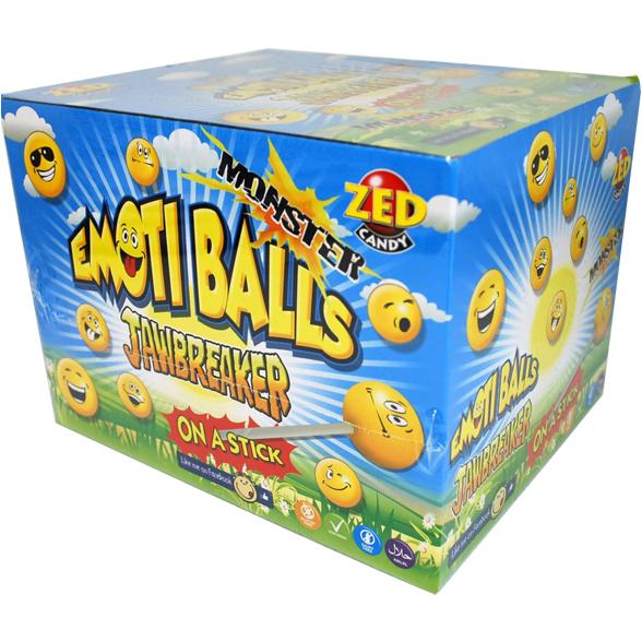 Emoti Balls: Jawbreaker on a Stick 1