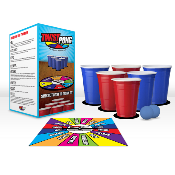 Twist Pong: Beer Pong With a Twist! 1