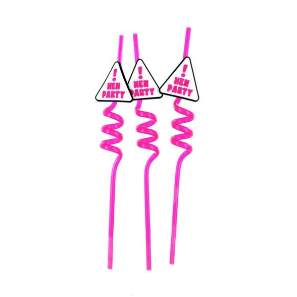 Hen Party Straws Pack Of 3 1