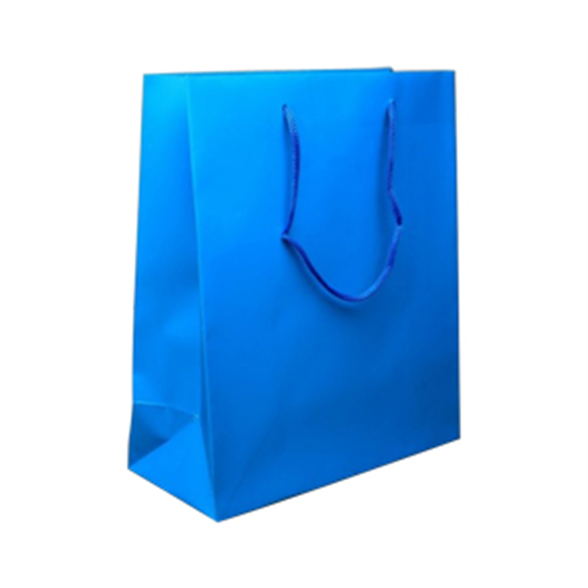 Turquoise Blue Gift Bag - 23x18.5x9cm 1