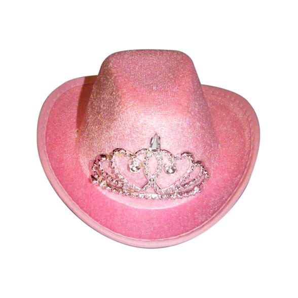 Mini Pink Cowboy Hat 1