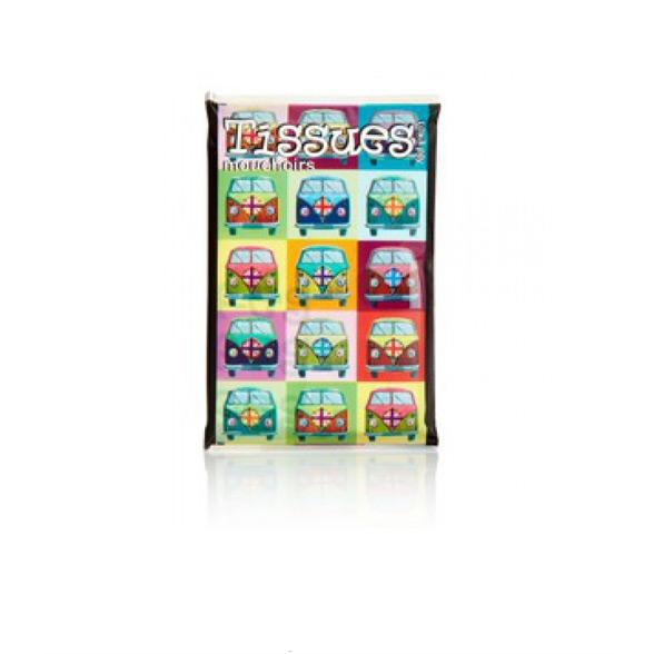 Campervan Printed Pocket Tissues 1