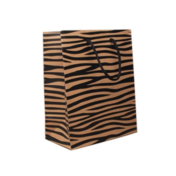 Tiger Print Gift Bag - 23x18x10cm 1