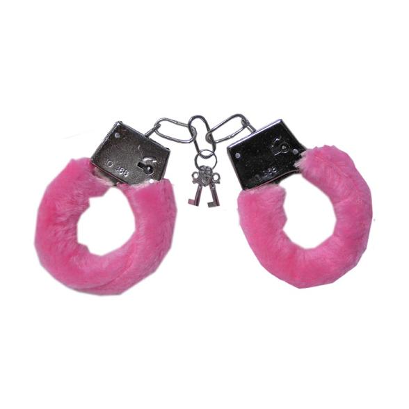Baby Pink Handcuffs 1