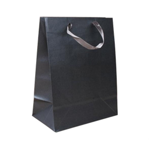 Dark Grey Gift Bag - 23x18x10cm 1