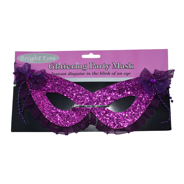 Glittering Eye Masks (4 Different Colours) 1