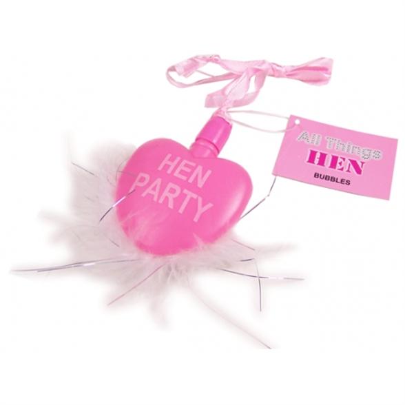 Hen Party Heart Bubbles 1