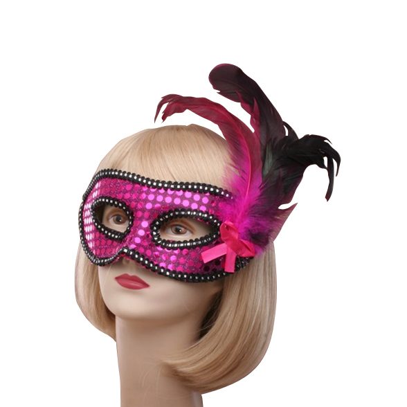 Feathered Masquerade Mask 1