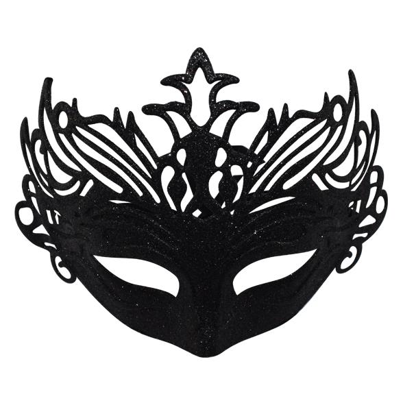 Coloured glitter mask 1