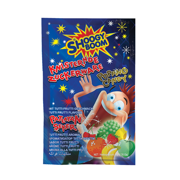 Pop Shock Popping Candy - Caramel 1
