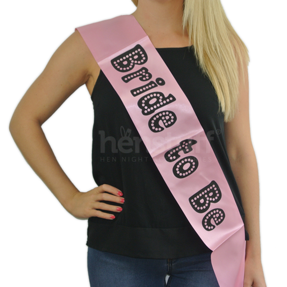 Bride To Be Miss Behave Sash 1