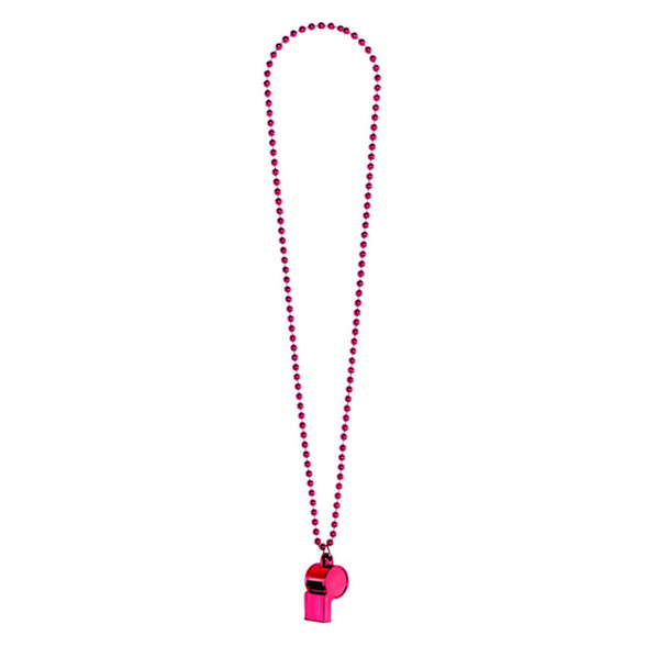 Whistle on a Chain Pink 1
