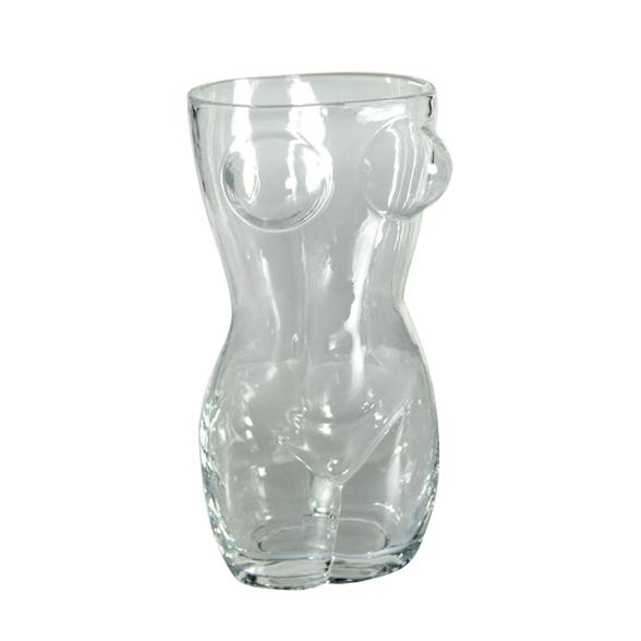 Woman Shaped Glass 340ml 1