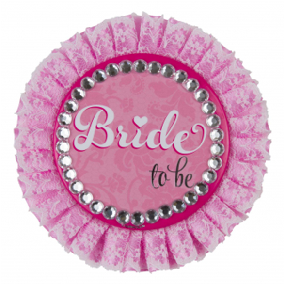 Hen Party Bride to be Deluxe Badge 1