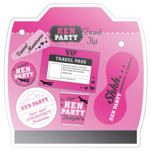 Hen Party In Flight Survival Pack 1