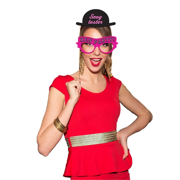 Hen Party Fun Photo Booth Kit 1