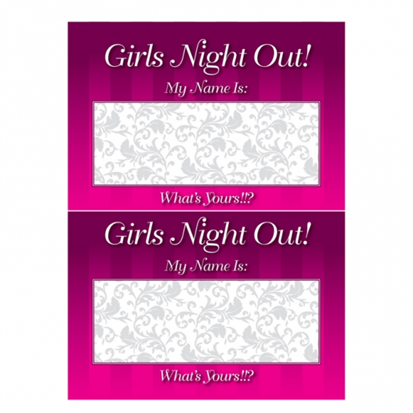 Hen Night Name Tags 1