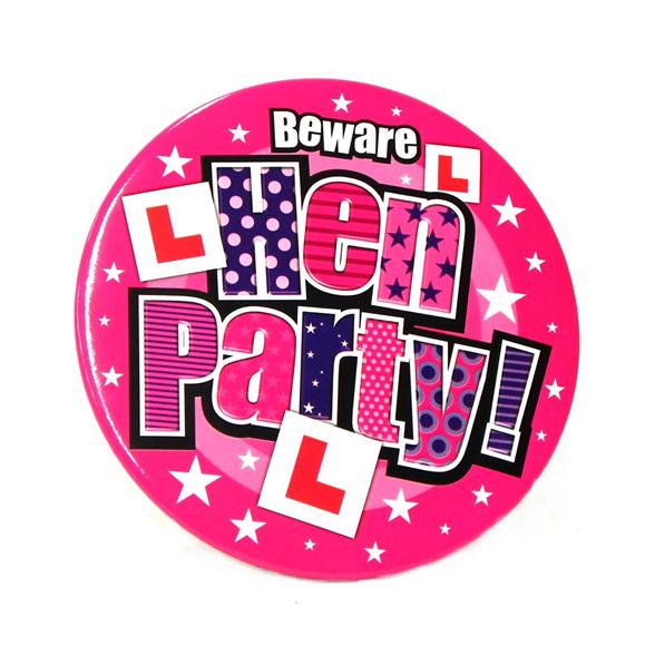Jumbo Size Hen Party Badge 1