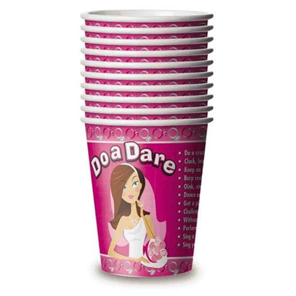 Bride To Be Dare Cups 1