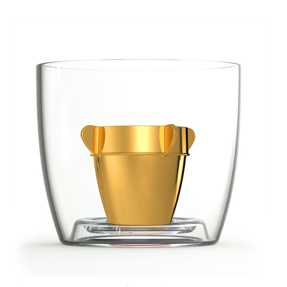 Bomber Jagerbomb Cups - Gold 10 Pack 1