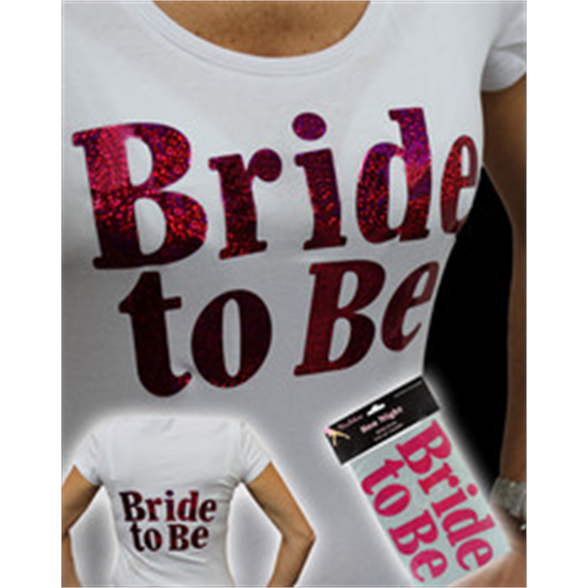 Iron On Bride To Be Transfer 1