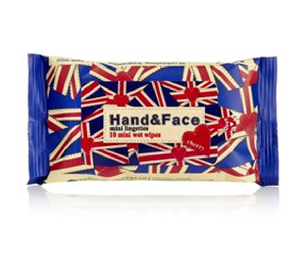Union Jack Hand & Face Wipes 1