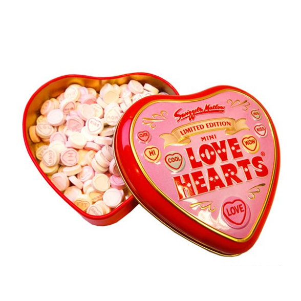 Limited Edition Mini Love Heart Tin - 31/12/16 1