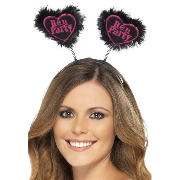 Hen Party Love Heart Boppers 1