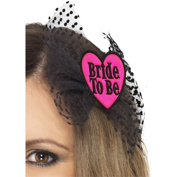 Bride-to-Be Hair Bow 1