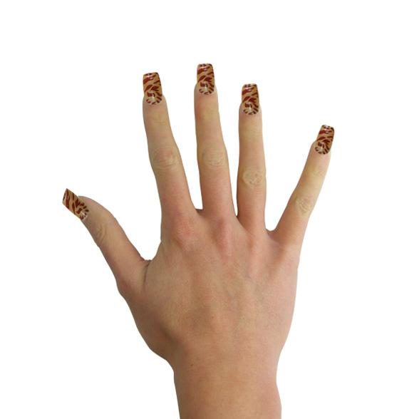 Animal Print Fake Nails 2