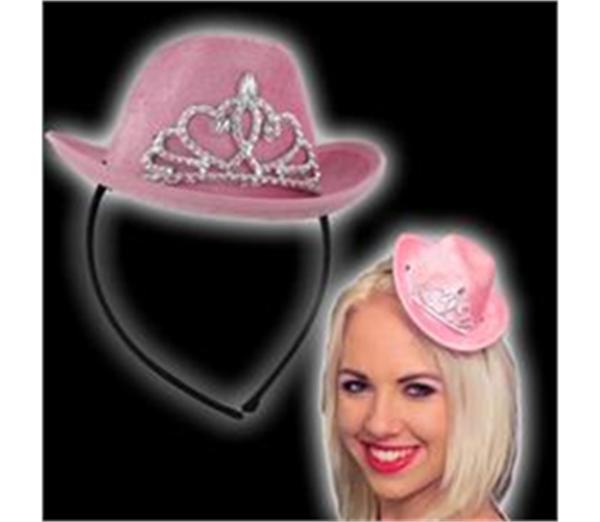 Mini Pink Cowboy Hat 2