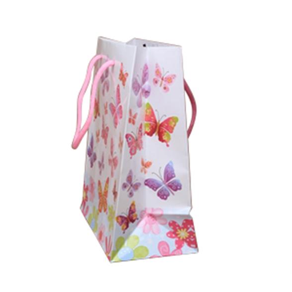 Butterfly Print Gift Bag - 23x18x10cm 2