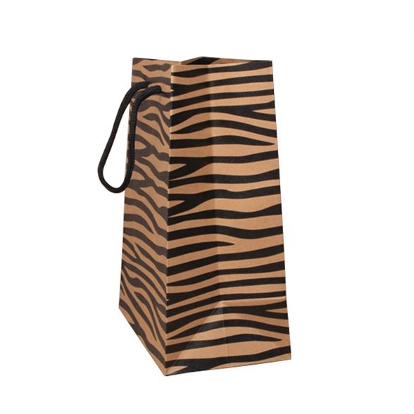 Tiger Print Gift Bag - 23x18x10cm 2