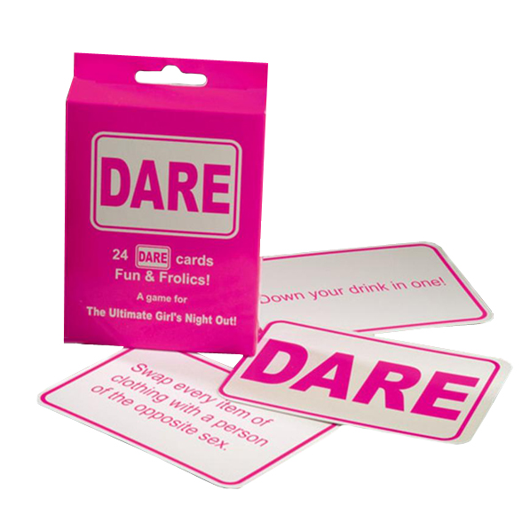 Dare Cards Hen Night Games for Girls Pink 2