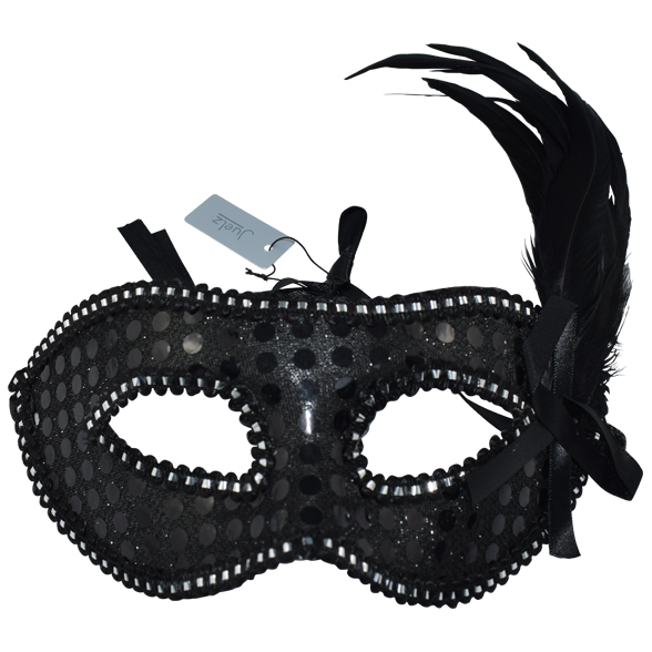 Feathered Masquerade Mask 2