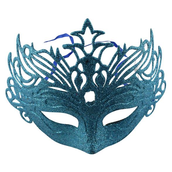 Coloured glitter mask 2