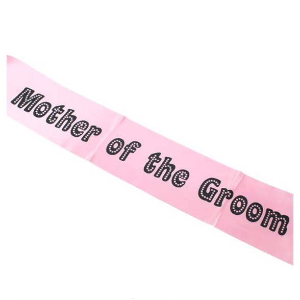Miss Behave Mother of the Groom Sash 2