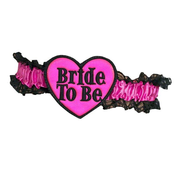 Bride To Be Garter 2