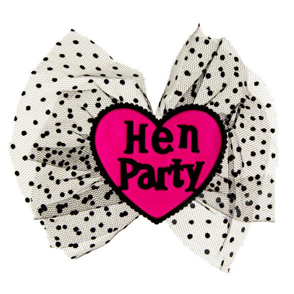 Hen Party Hair Bow 2