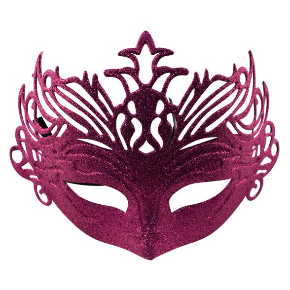 Coloured glitter mask 3
