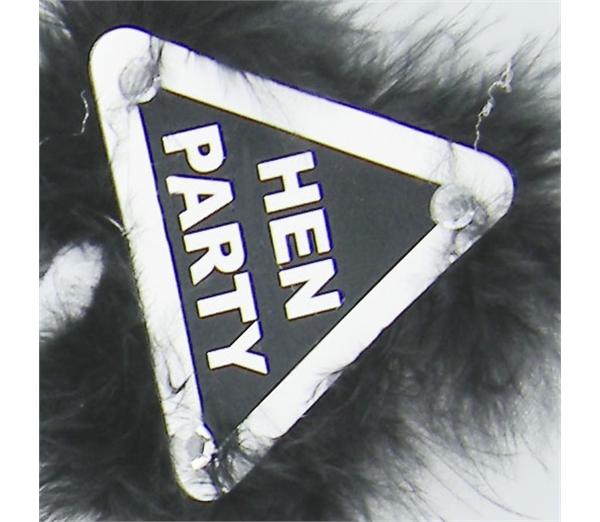Black Hen Party Warning Bopper 4