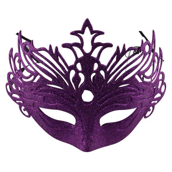 Coloured glitter mask 4