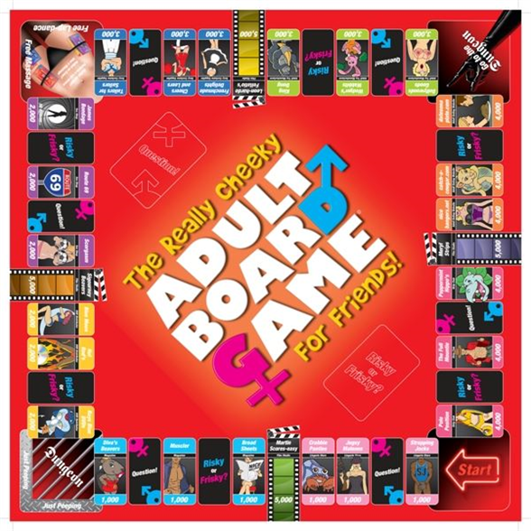 The Really Cheeky Adult Board Game 4