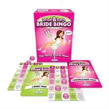 Bride To Be Drink & Dare Bingo