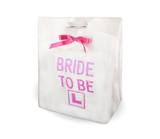 White Diamante Bride To Be Gift Bag