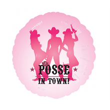 "18"" Party Posse Foil Balloon"